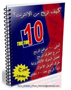 كتاب ftp. كيفية الربح من الانترنت.أفضل عشر طرق لتربح من الانترنت