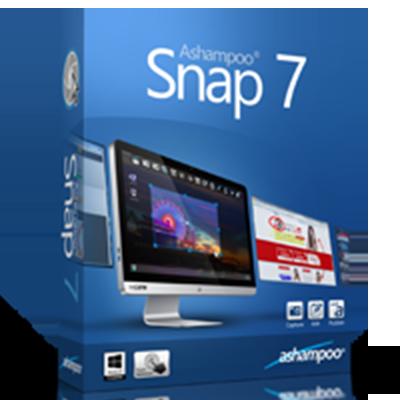 برنامج 7 ashampoo snap لتصوير سطح المكتب