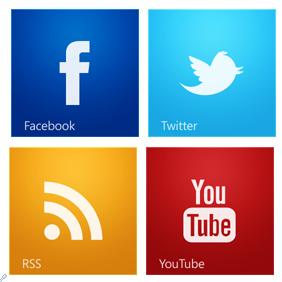 إضافة اشتراك عبرالمواقع الاجتماعية بشكل جميل لمدونة البلوجر