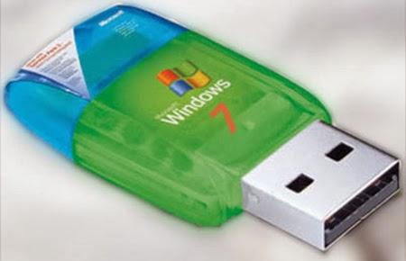 شرح عمل فلاشة USB تحتوي على اقلاع لنظام Windows 7