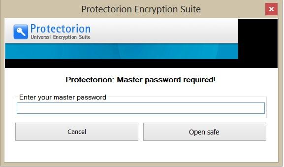 البرنامج القوي المجاني Protectorion ToGo لتشفير وحماية ملفاتك بكلمة مرور