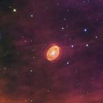 تمكن تلسكوب هابل من رصد نجم ضخم على وشك الانفجار