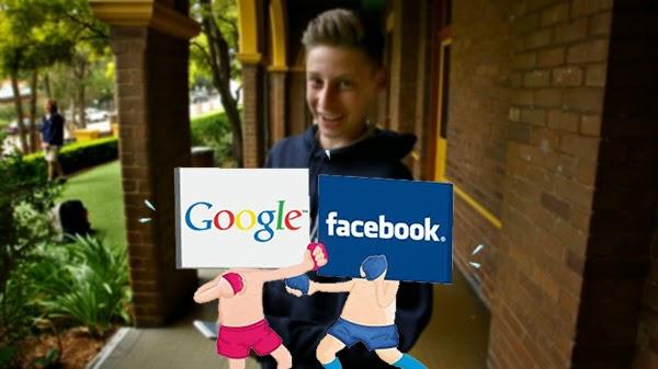 تنافس بين فيس بوك وجوجل على شاب عمره لا يتجاوز 15 عاما !