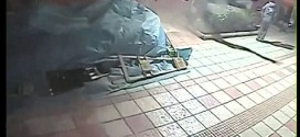 بالفيديو اراني ينجو من سيارة يقودها مخمور ببضعة أمتار
