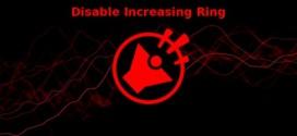 تطبيق Disable Increasing Ring للأندرويد من اجل التحكم في نغمة الرنين التصاعدية