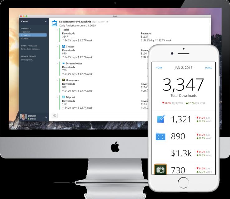 LaunchKit  الآن تساعد المطورين على تتبع مبيعات متجر التطبيقات