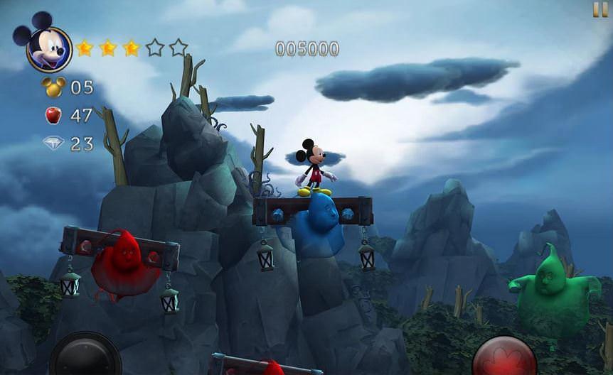 لعبة Castle of Illusion لنضام Ios و الأندرويد