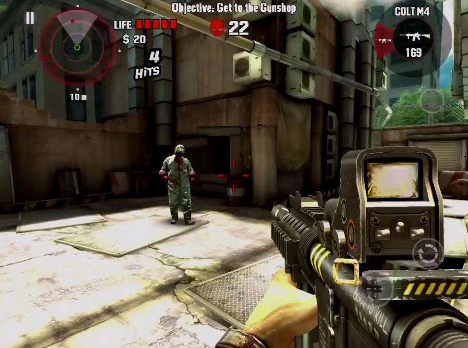 لعبة Dead Trigger HD لكلا من Ios و Andriod