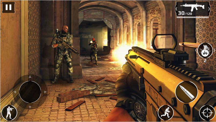 لعبة القتال الحديث 5 Modern Combat 5: Blackout لنضام Ios و الأندرويد