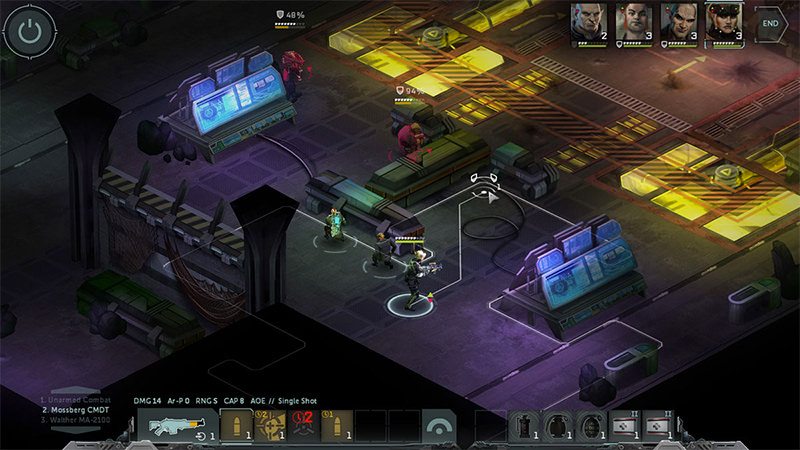 لعبة Shadowrun Dragonfall – Director's Cut لنضام Ios و الأندرويد