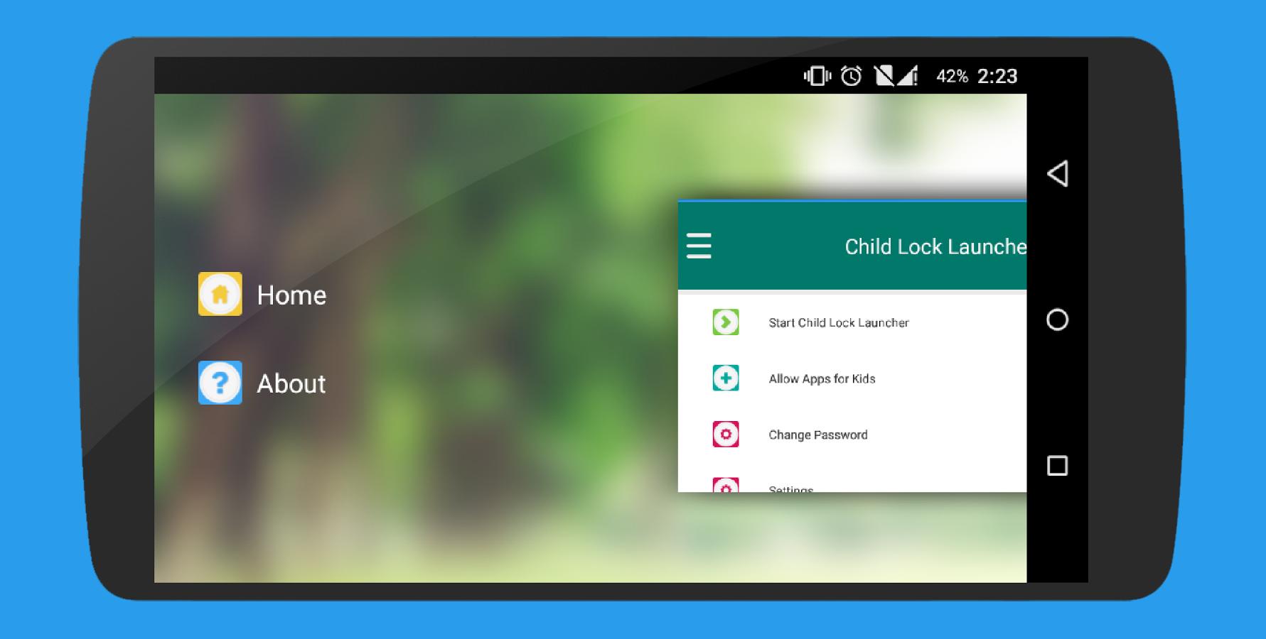 تطبيق Child Lock Launcher تحكّم أبوي كامل لإستخدام في هاتف طفلك