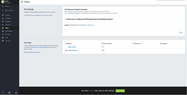 كيفية إنشاء متجر إلكتروني على شوبيفاي (Shopify)