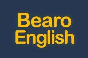 تطبيق Bearo English لتعلم اللغة الإنجليزية