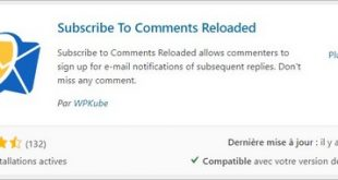 Subscribe To Comments Reloaded