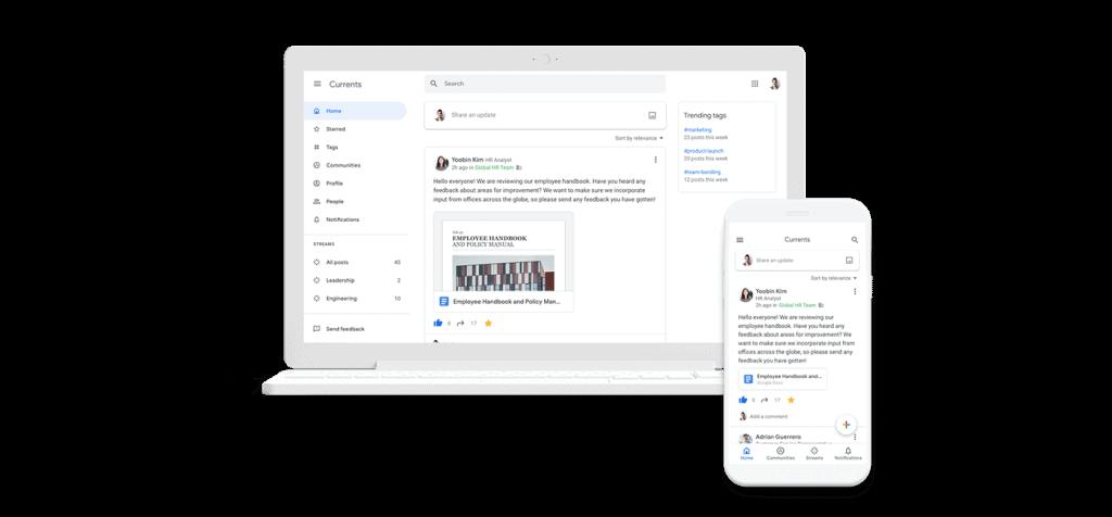 Google Currents  Currents منصة جديدة تطلقها شركة جوجل لتحل محل +Google