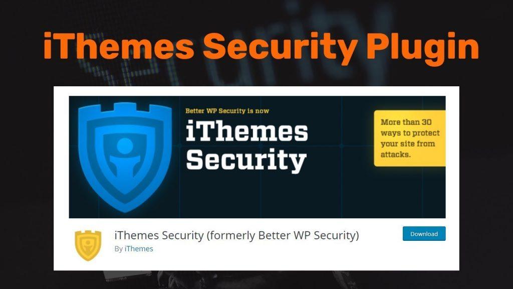 اضافة iThemes Security: