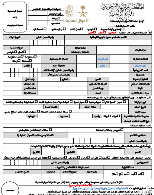 رابط تنزيل نموذج 58 بطاقة الهوية الوطنية مدونة الشهادة أنترنت نموذج 58 بطاقة الهوية الوطنية