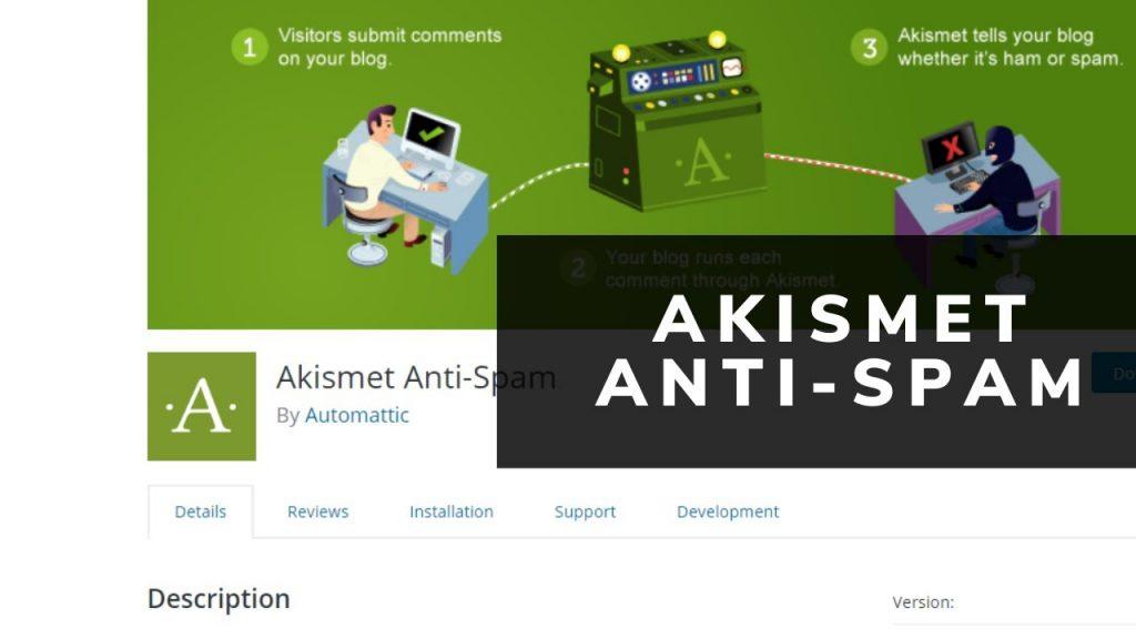 إضافة AKISMET : أهم إضافات الووردبريس