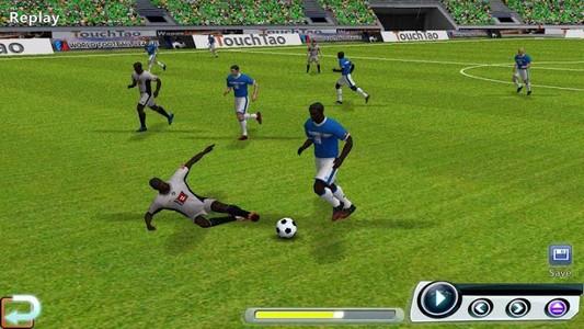 اللعبة الأولى: رابطة العالم لكرة القدم .